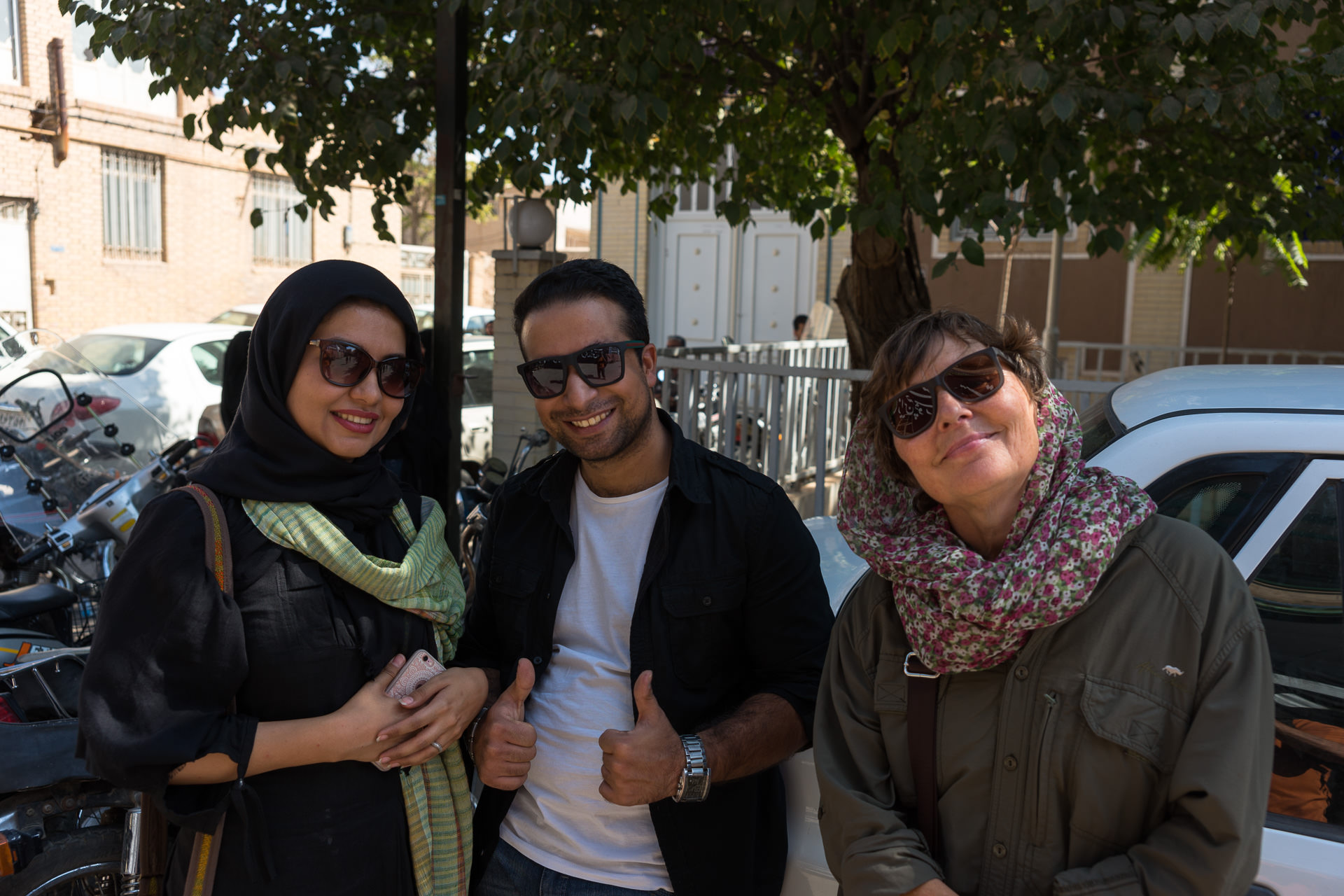 Yazd - Fatemeh, Meysam & Heidi