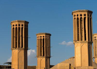 Yazd - Lehmstadt Windtürme
