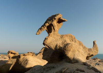 Qeshm Beach Sculpture