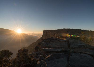 Wadi Nakhar - Grand Canyon Omans - Sunrise