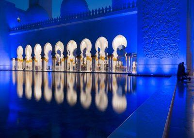 Abu-Dhabi Scheich Zayid Moschee