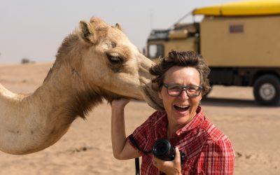 Kamele, Falken und Moscheen