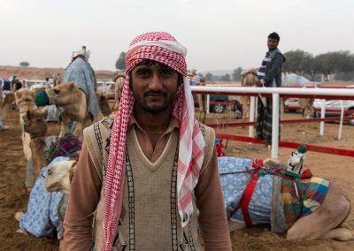 Kamelrennen Vorbereitung