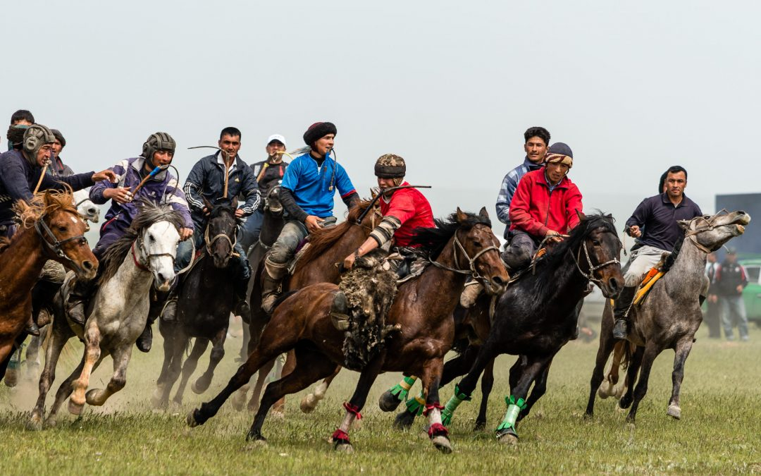 Kupkari – Pferdesport auf zentralasiatisch