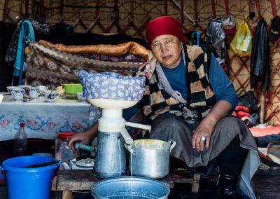 Song Kol Yurt Life