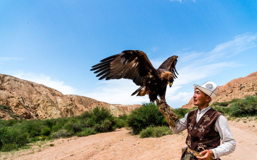 Issyk-Kul und die Adlerjäger