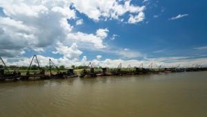 Fischerboote – Kariba Hafen