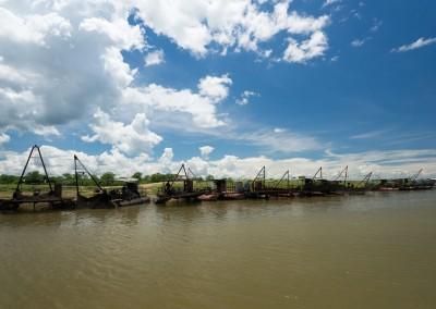 Fischerboote - Kariba Hafen
