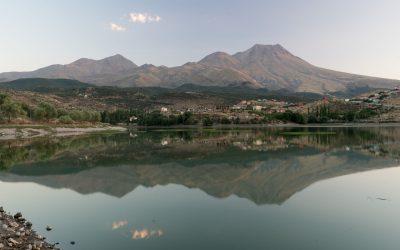 Türkische Seen, Berge und die anatolische Steppe