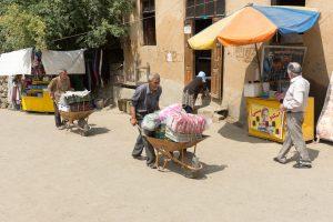 Gemüsetransport in Masuleh