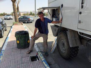Iran – Wassertankstelle