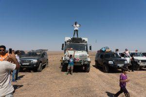 Kavir Wüste – Treffen mit Offroad Club