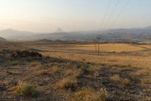 Landschaft Aras Tal