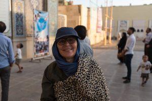 Shiraz – Heidi mit Chador