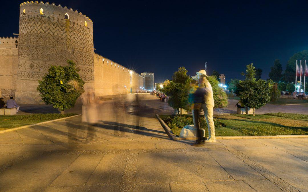 Shiraz und die berühmte Weintraube