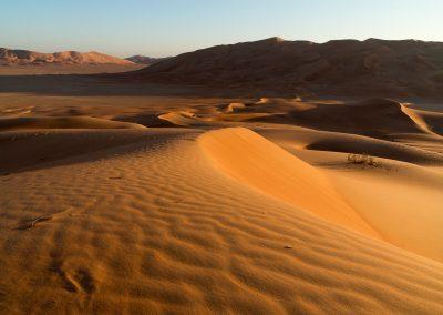 Rub al-Khali - Sunset
