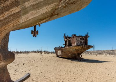 Ship Wreck in Aral Sea