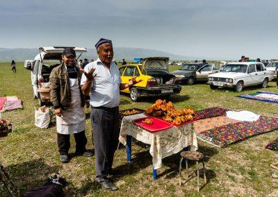 Food preparation at Kupkari Match