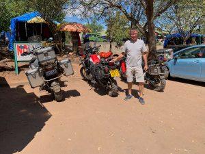 20190502 Motorcycle Group In Kasane Botswana IMG 7471