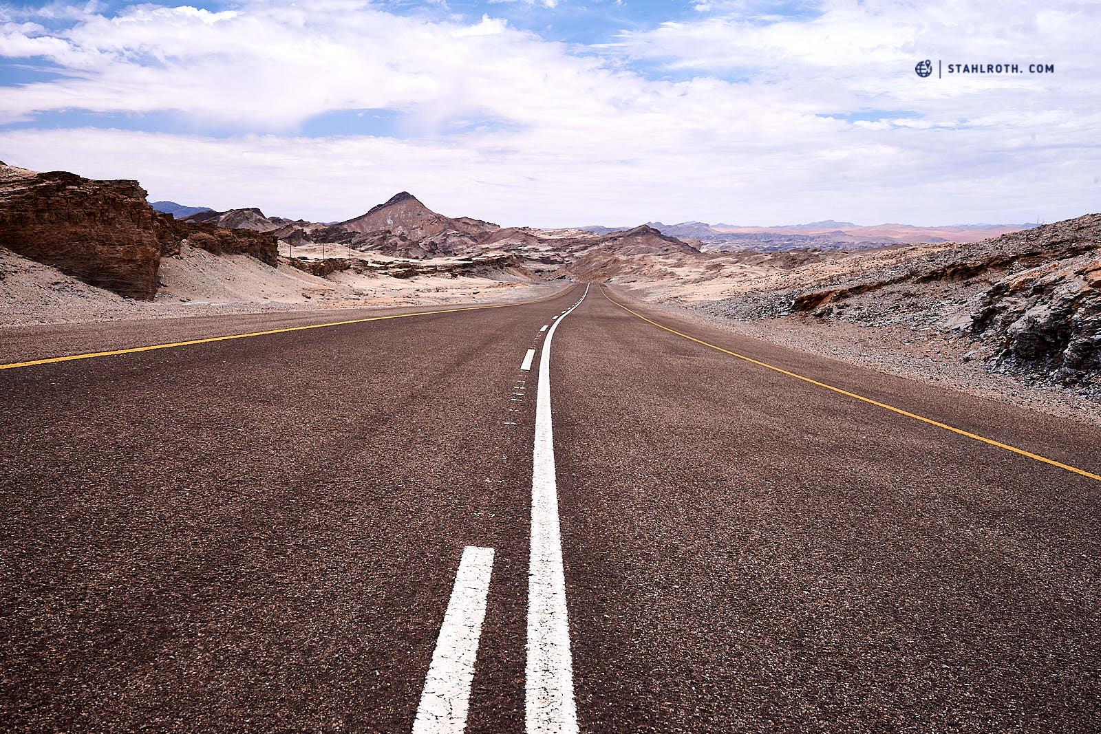 Straße nach Oranjemund